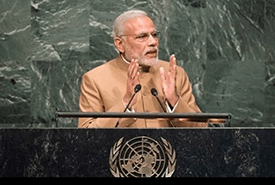 India takes a bold step for the planet