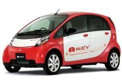 Mitsubishi MiEV plug-in electric car
