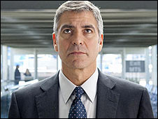 "George Clooney as Ryan Bingham in ""Up in the Air"""