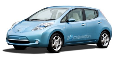 Nissan LEAF electric car