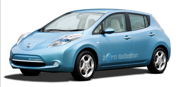 Nissan Leaf Plug In Electric Car Is One Of Top Inventions Of 2009