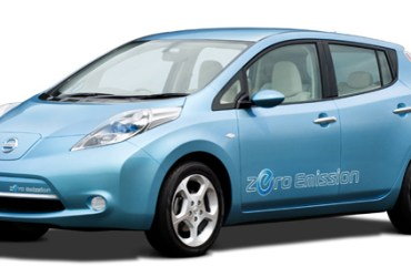 2011 Nissan Leaf Electric Car Named European Car of the Year