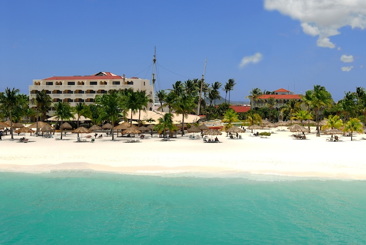 Bucuti Tara Beach Resort, Aruba, one of top green hotels in Caribbean