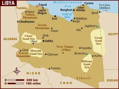 My drive across Libya, from Tunisia to Egypt