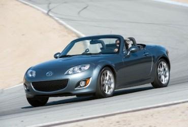 Best road trip convertible: 2012 Mazda MX-5 Miata