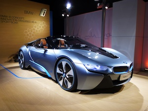 BMW i8 Spyder Concept Supercar EvelynKanterPhotographer COPYRIGHT NO RIGHTS CO COPY OR REUSE