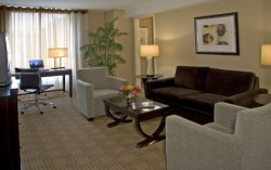 Hyatt Regency DC suite