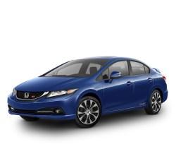 Best 2013 sedans under $25thou 2013 Honda Civic sedan