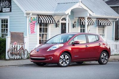 Nissan Leaf certified pre-owned