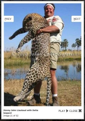 ecoXplorer Jimmie John dead leopoard