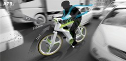 Air purifying bicycle concept