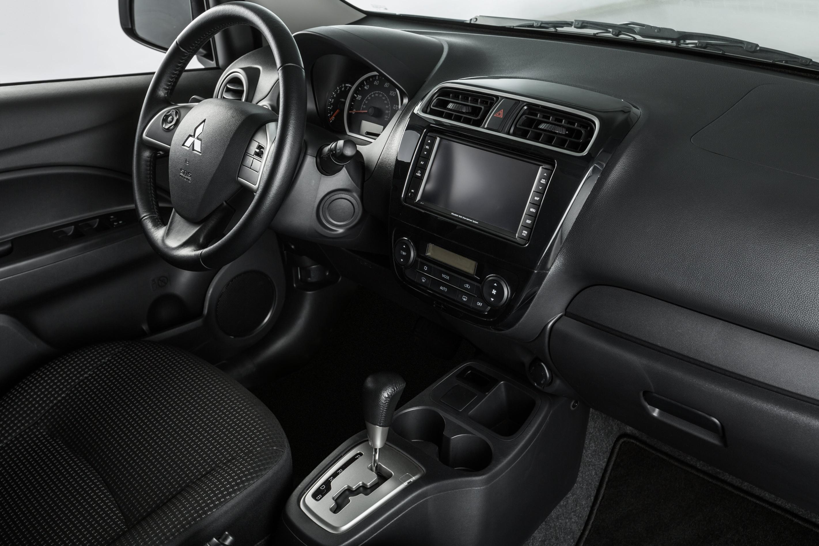 2015 Mitsubishi Mirage Interior
