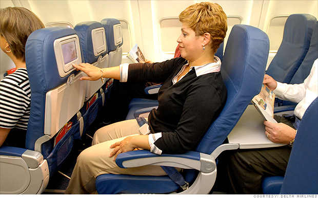 Delta drops fees for on-board entertainment