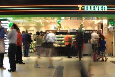 7-Eleven opens first US airport location