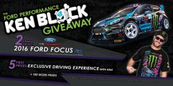 Win a 2016 Ford Focus RS