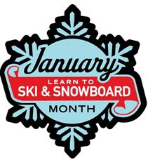 January LearnSkiSnoboardMonth