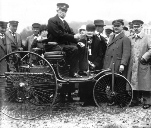 Carl Benz 1886 patent motorwagen