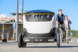 Robots deliver mail in Switzerland