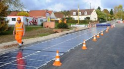 World's First Solar-Powered Road Opens