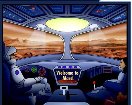 Free NASA Mars Exploration Posters, Games