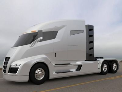 nikola electric truck