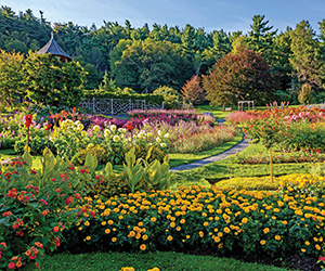 best hotel gardens in USA