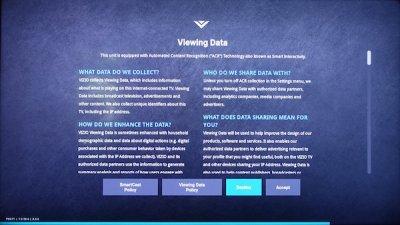 scam alert: smart TVs