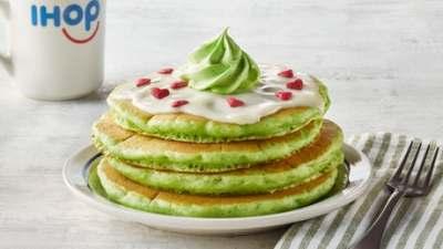 ihop grinch pancakes/ecoxplorer