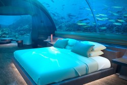 Underwater Villa Opens in Maldives