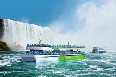 Maid of the Mist electric sightseeing boats