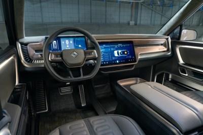 Rivian EV interior