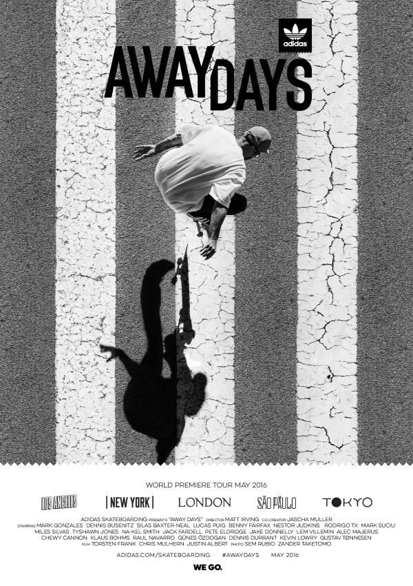 Away Days Movie Poster