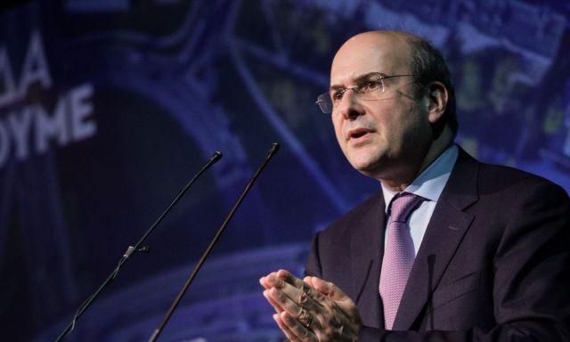υπουργός Ενέργειας και Περιβάλλοντος Κωστής Χατζηδάκης