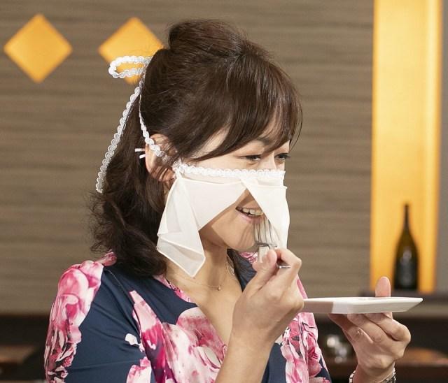 Πρωτότυπη μάσκα για συνοδούς κυρίων σε κλαμπ