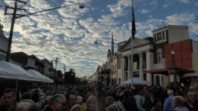 Image of the Sky, Balmain, Anzac Day 2015 - ecperkins.com.au