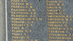Image of the Memorial at Pioneers Memorial Park Leichhardt, Anzac Day 2015 - ecperkins.com.au
