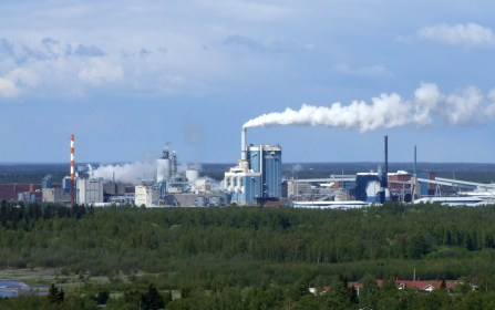 Pulp mill in Finland