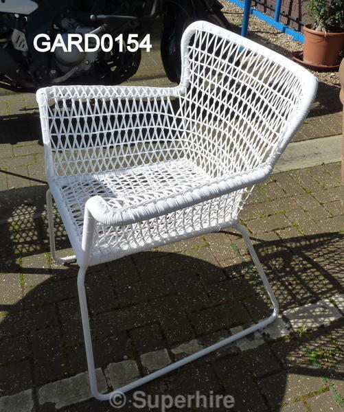 woven plastic garden chairs corner sofa and swivel chair set white skid base fan side elbow