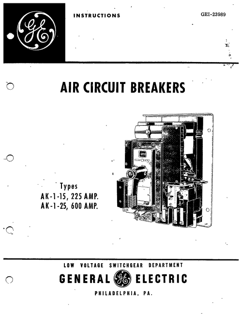 small resolution of ak 1 25 600 amp manual general electric