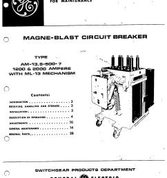 gek 31111 magne blast circuit breaker  [ 1689 x 2212 Pixel ]