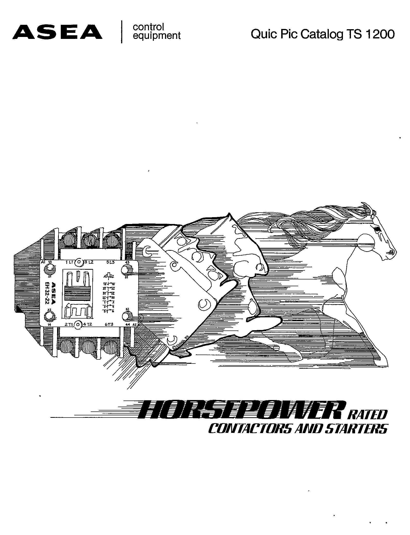 Series 100 A C Contactors Manual