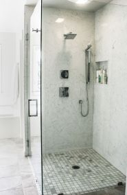 z Cambria slab shower