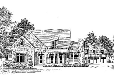 1309 AJ Land Rd – Hearth Plan