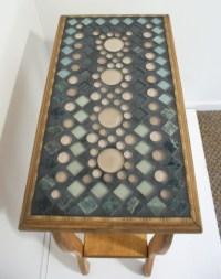 Mosaic Tile Table Tops
