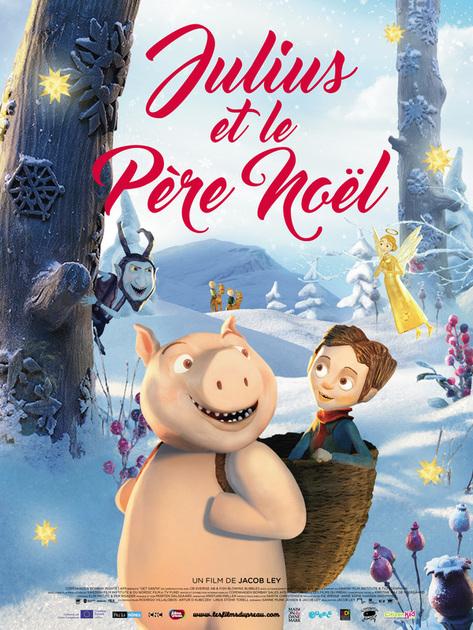 Ou Vit Le Pere Noel : Julius, Père, Noël, Ecran, Toile