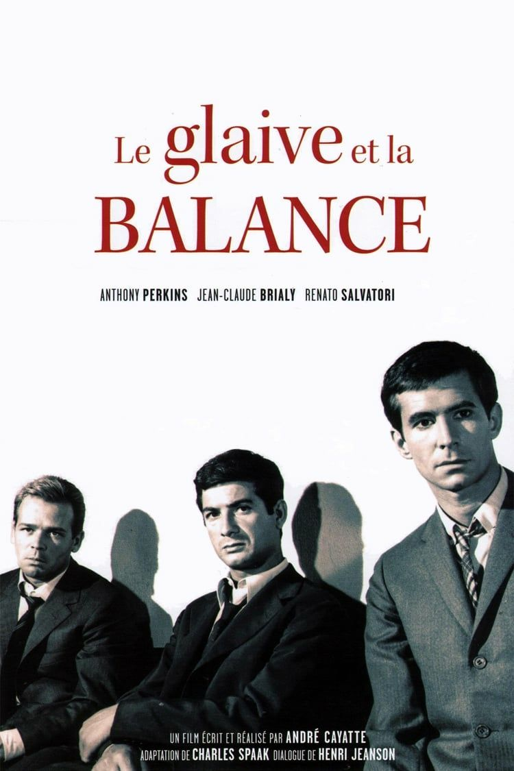 Le Glaive Et La Balance : glaive, balance, Glaive, Balance, (1963)