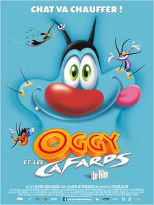 affiche Oggy et les cafards