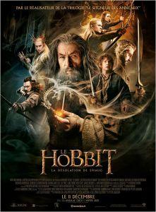 affiche le Hobbit la désolation de smaug