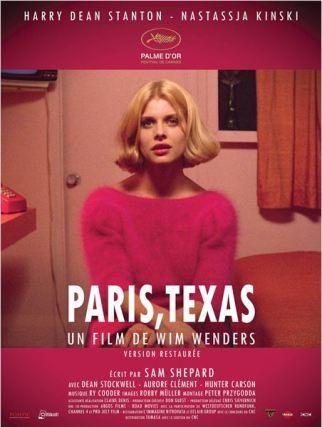 Affiche Paris Texas