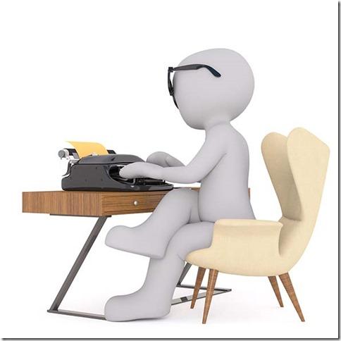 bonhomme-blanc-écrivant-machine